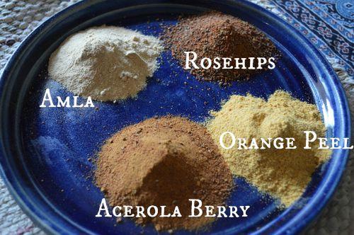 powdered herbs