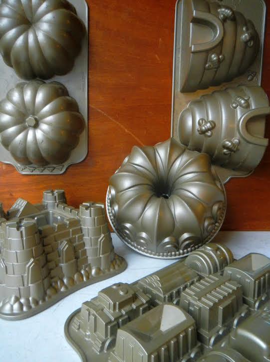 bundt cake pans from Tessa