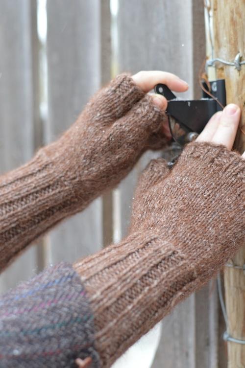 Fingerless mittens 1