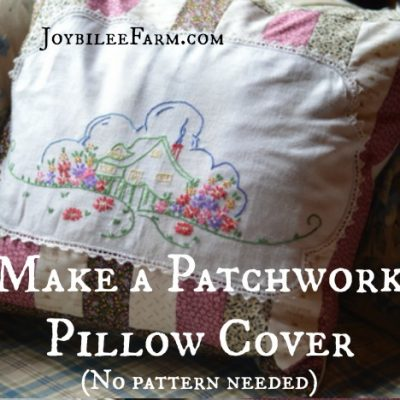 Little House on the Prairie® Patchwork Pillow Cover