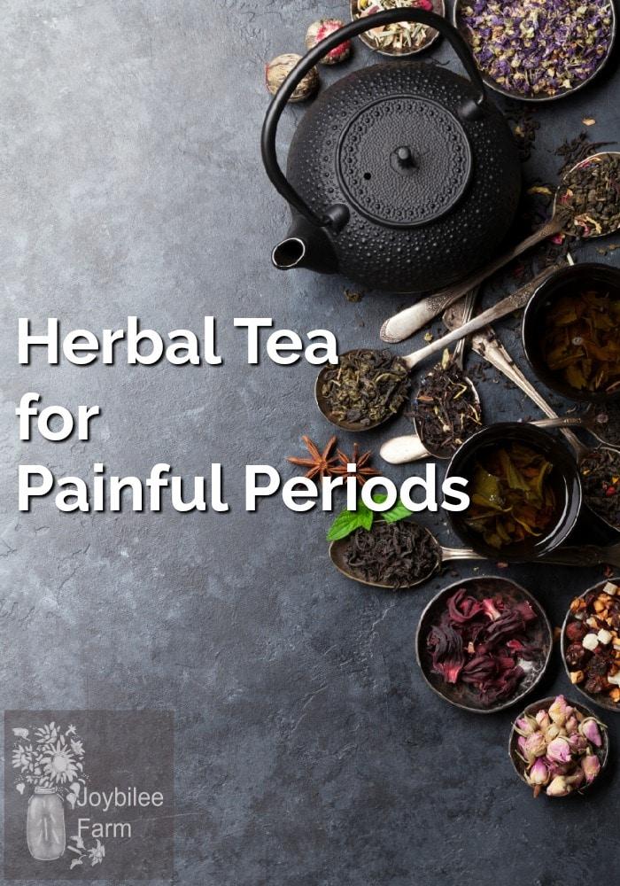 Black tea kettle and bowls of loose leaf teas