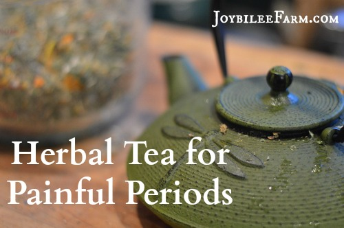 During painful periods herbs can help by supporting the job the body is already doing. Using Herbal tea for painful periods is a natural alternative to over the counter medications.
