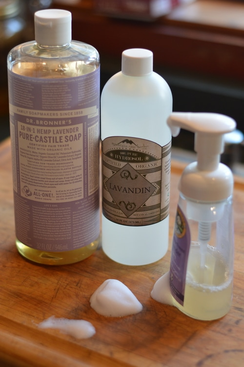 Whether you use bar soap, liquid soap, or foaming hand soap, you'll need to replace your soap about once a month, or more often if your bathroom and kitchen soap gets heavy use. Soap is a significant household expense, which often gets added to the grocery bill without considering the costs and alternatives.