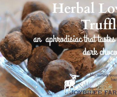 A Recipe for Herbal Love Truffles
