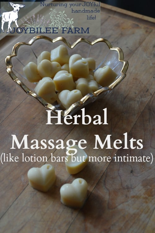 heart shaped massage bars
