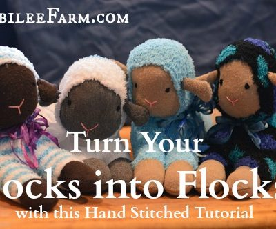 Turn Your Socks into Flocks with this Hand Stitched Tutorial
