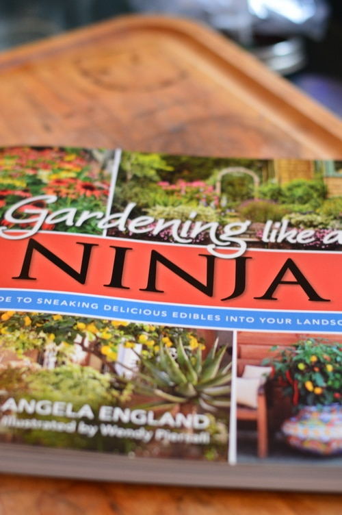 book cover gardening like a ninja