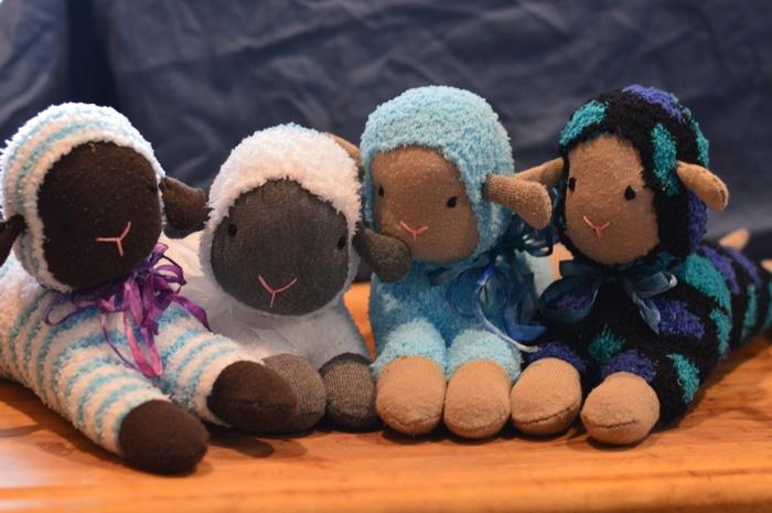 sarah sock lambs 1