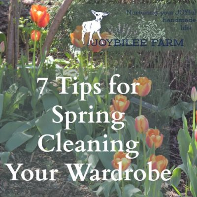 7 Tips for Spring Cleaning Your Wardrobe