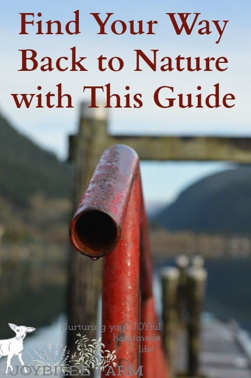 The call to get back to nature and find significance in place and time is real. It's the desire for Eden in our archetypal memory that drives us to retreat to the woods like Thoreau. The desire may be numbed by technology or by busyness, but for many the call to get back to nature, gets louder as we get older