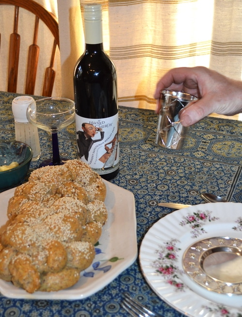 Shabbos and blasted church red wine