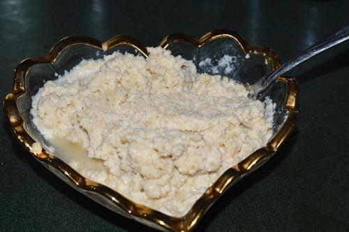 Horseradish for the seder plate