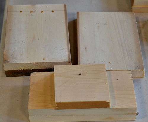 Make a bluebird house from only 1 board