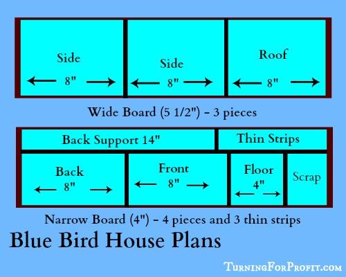 Blue Bird House Plan