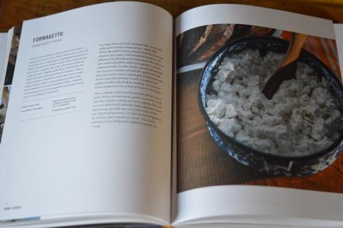 Homecooked chevre recipe