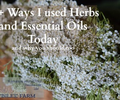 15+ Ways to Use Herbs and Essential Oils before SHTF