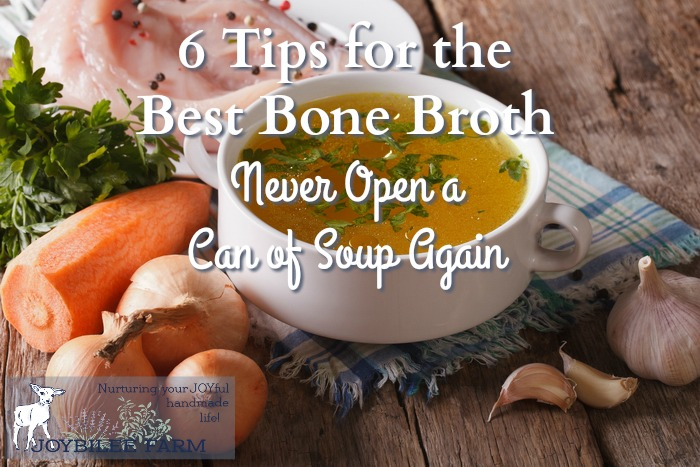 Bone broth is full of healing collagen and protein to help your body rebuild cartilage, bone, and teeth.