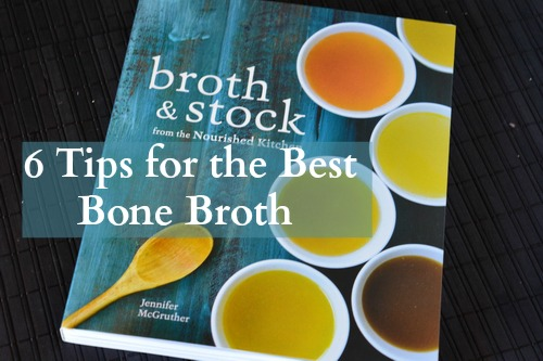 As I was reading through Broth and Stock I found five nuggets of wisdom for the very best broth. If you apply these tips you'll move your bone broth from ho-hum to gourmet.