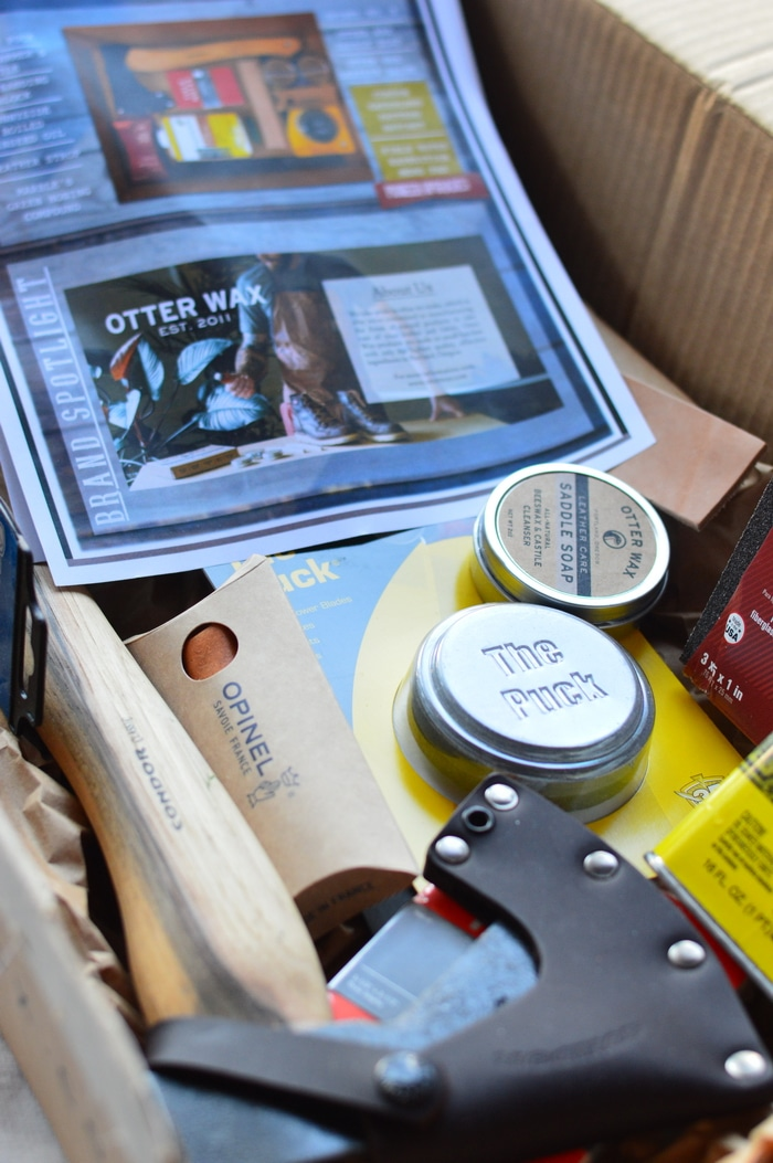The Homestead Box is a subscription box service that curates thoughtful tools around a monthly project theme and sends them right to your door.