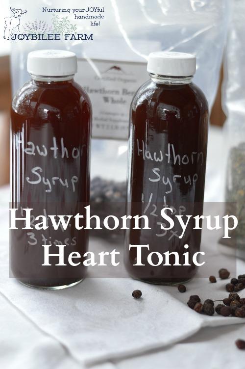Hawthorn heart tonic
