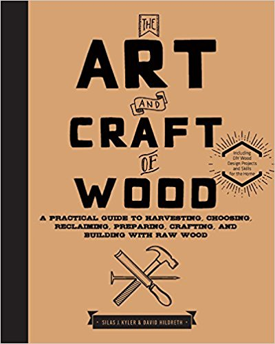 The Art and Craft of Wood by Silas J. Kyler & David Hildreth, however, gave me some great tips for turning windfalls into useable lumber. I asked the publisher, Quarry Books if I could share these tips with you