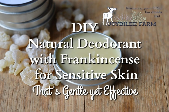 You can make DIY natural deodorant in just 15 minutes and have a gentle and safe solution for body odor and sweat. Frankincense is anti-inflammatory, antibacterial, and antifungal, while being gentle on the skin. It is a first rate essential oil to use near the breasts and lymph nodes with recognized anti-tumor and lymphatic benefits.