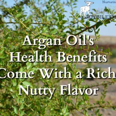 Argan Oil Health Benefits