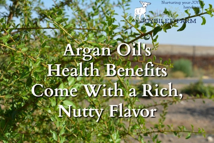 Argan oil is high in antioxidants, rich in tocopherols (vitamin E), medium chain fatty acids, carotenoids, squalene, and oleic acid. Argan oil is scientifically shown to be antitumor, anti-carcinogenic, antioxidant, antiviral, cardio-protective, anti-aging, hepato-protective, anti-diabetic. It reduces cholesterol and is also anti-inflammatory.