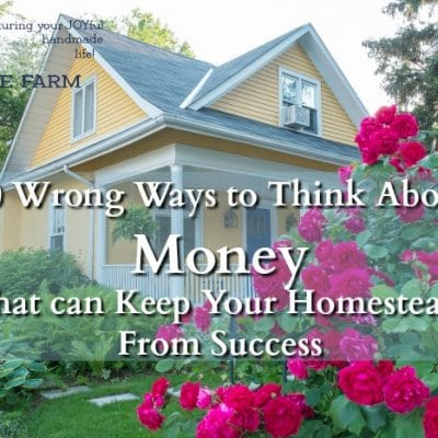 10 Ways the Poverty Mindset Might be Keeping You Homestead-Poor