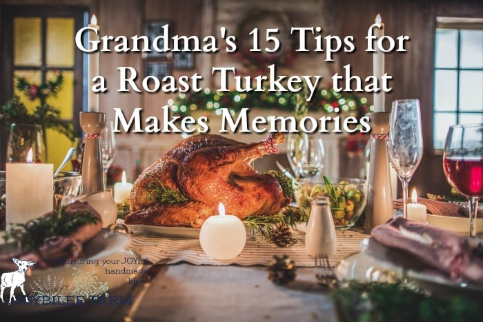 Learning how to roast a turkey is best done while helping your grandma in the kitchen on Thanksgiving or Christmas Day. But if you don't have the ability to hang out at grandma's house for a few days before the feast, you might miss the nuances that made grandma's turkey, stuffing, and gravy taste like the holidays you remember