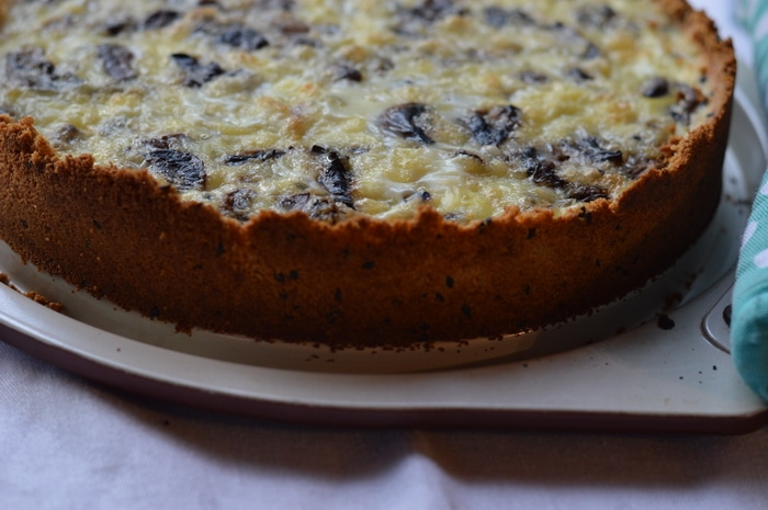 This gluten-free quiche recipe, along with the any of the 7 variations, can be ready in 30 minutes. It serves 8 so you can make it ahead for a week of lunches or serve to your family for dinner.