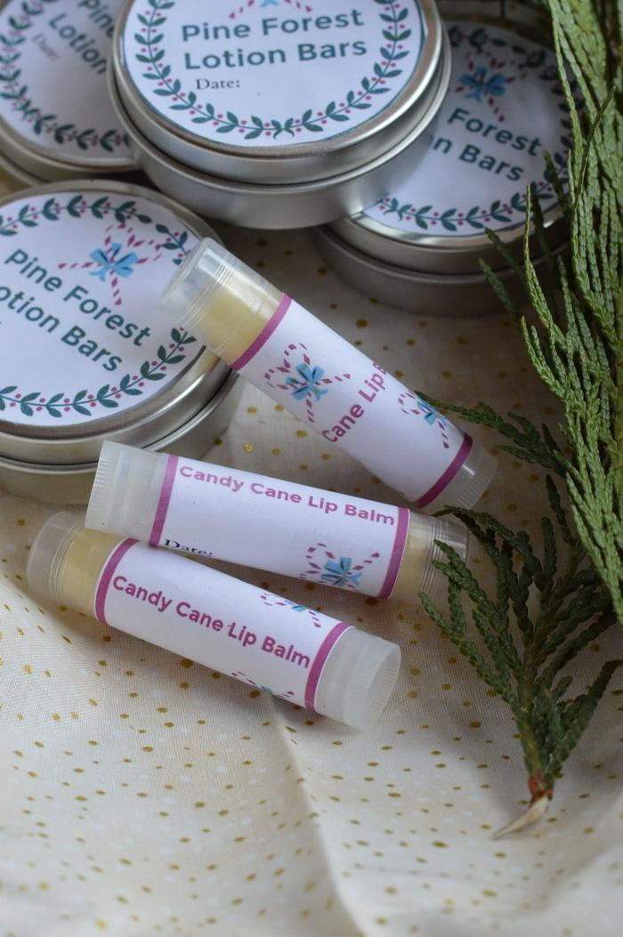 Easy DIY Candy Cane Lip Balm Recipe
