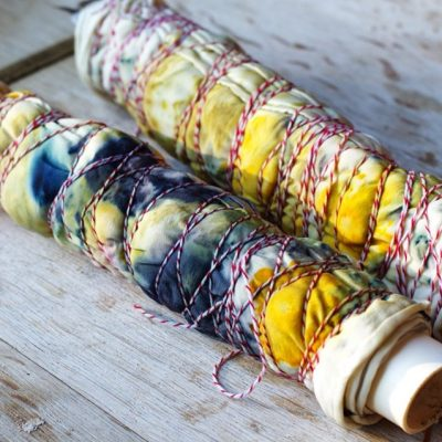 How to Ecoprint on Silk and Make Fabulous One-Of-A-Kind Gifts