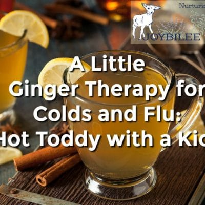 A Little Ginger Therapy for Colds and Flu