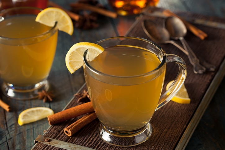 How to use Ginger for Colds and Flu with a Hot Toddy Recipe