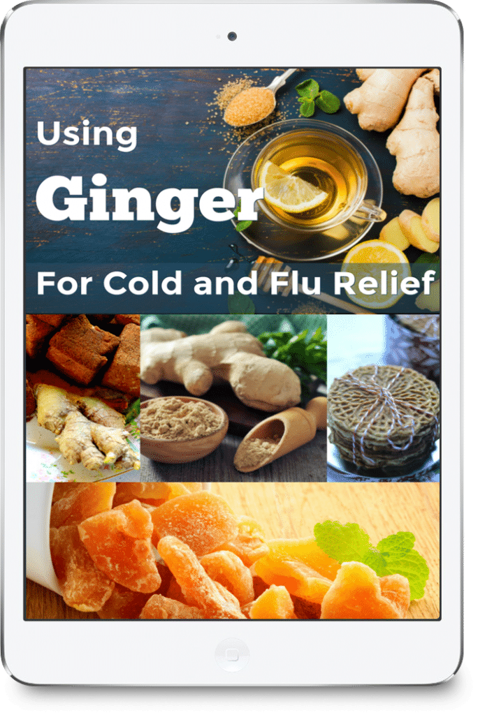 Tips and Recipes to use Ginger for Cold and Flu Relief