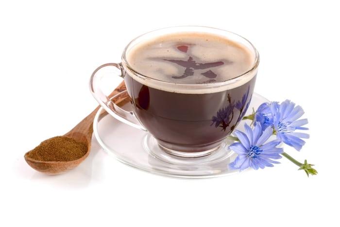 Chicory root coffee