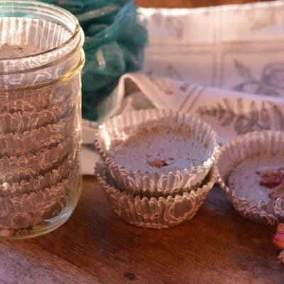 Aromatherapy Shower Tablets to Calm and Restore