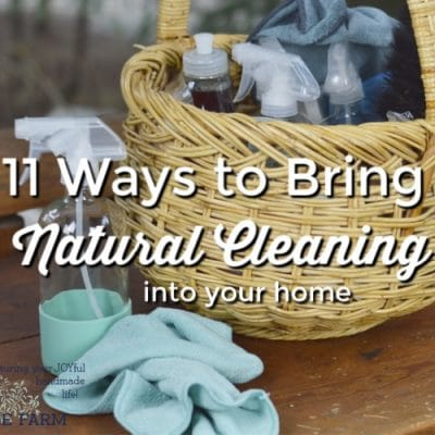 Bring Natural Cleaning into Your Home