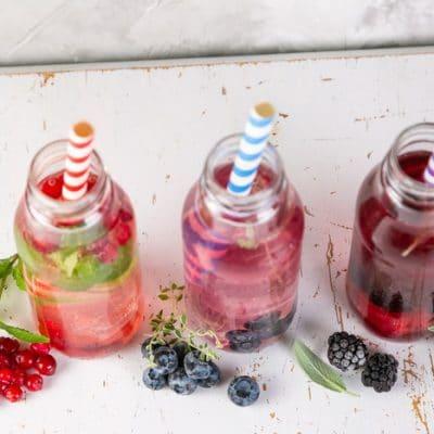 Make Herbal Drinking Vinegar for Stamina in the Summer Heat