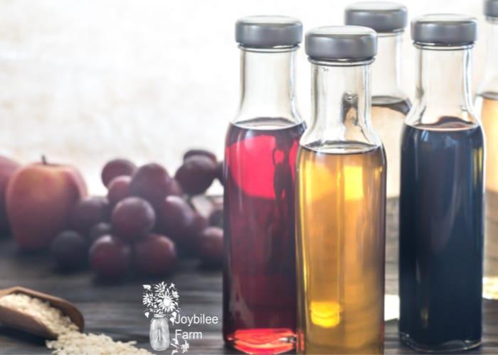 herb infused vinegar minerals