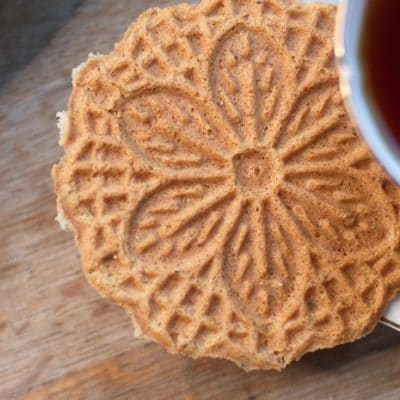 Pumpkin Spice Pizzelles Recipe to Keep the Kitchen Cool