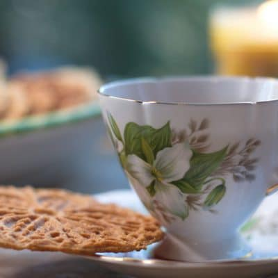 Gingerbread Pizzelles to Help with the After-Turkey Bloat