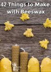 """Bees made out of beeswax """"flying around"""" beeswax bee hive candles"""