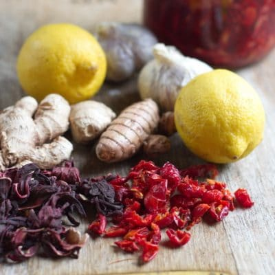 Homemade Red Hot Fire Tonic