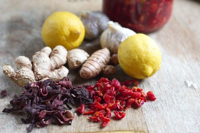 herbs and spices used in fire tonic