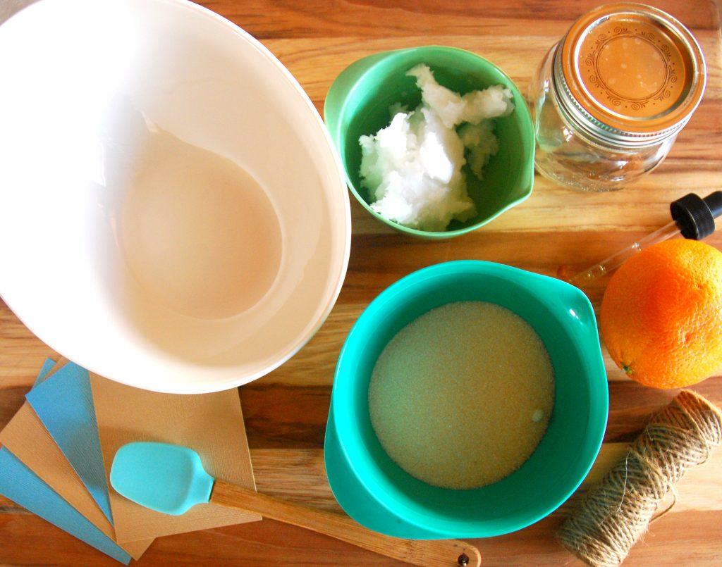 orange scrub ingredients